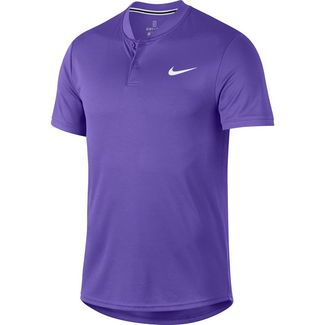 Nike M NKCT DRY BLADE Tennis Polo Herren psychic purple-white