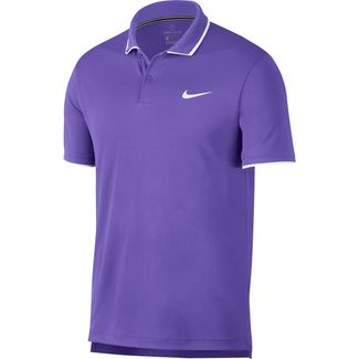 Nike M NKCT DRY TEAM Tennis Polo Herren psychic purple-white-white