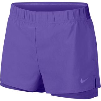 Nike W NKCT FLEX Funktionsshorts Damen psychic purple-psychic purple