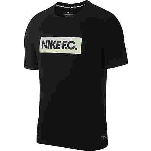 Nike Nike FC T-Shirt Herren black-vapor green