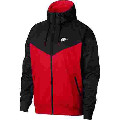 Nike NSW Windrunner Trainingsjacke Herren university red-black-black-white