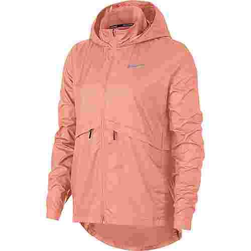 Nike Essential Laufjacke Damen pink quaqrtz-reflective silver