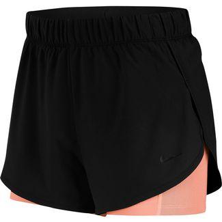 Nike Flex Funktionsshorts Damen black-pink quartz-white