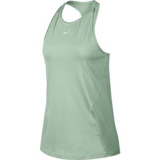 Nike Funktionstank Damen pistachio frost-white