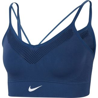 Nike Seamless Light Sport-BH Damen mystic navy-white