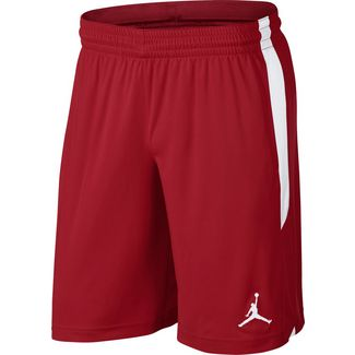 Nike 23 ALPHA Basketball-Shorts Herren gym red-white-white