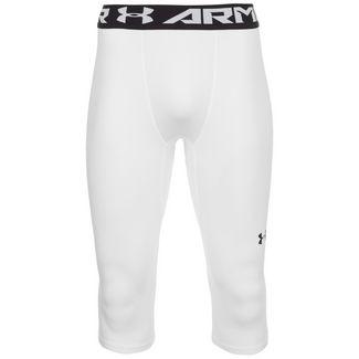 Under Armour Baseline Knee Tights Herren weiß / schwarz