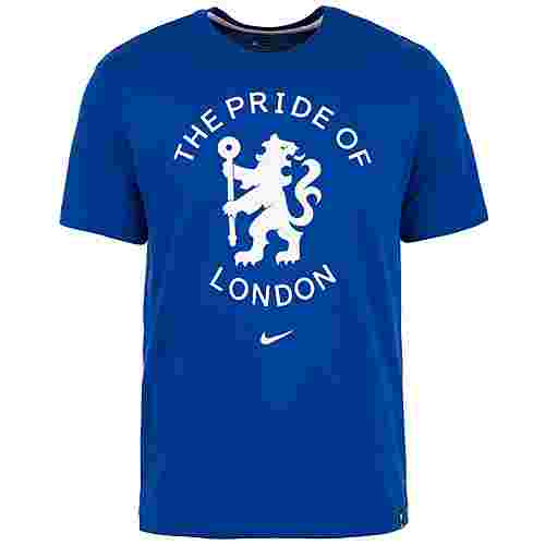 Nike FC Chelsea Story Tell Fanshirt Herren blau / weiß