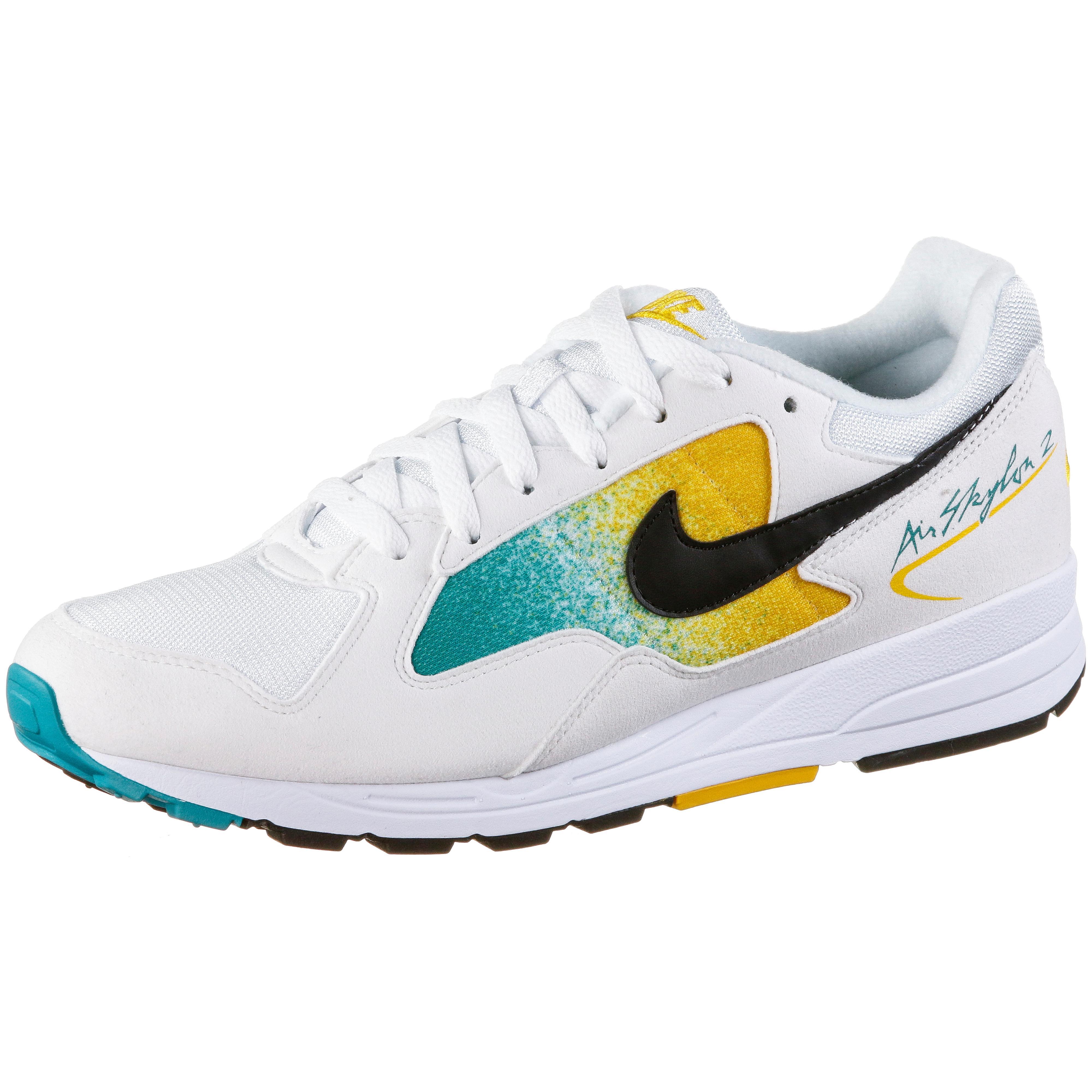 Nike Air Skylon II Sneaker white black university gold spirit teal im Online Shop von SportScheck kaufen