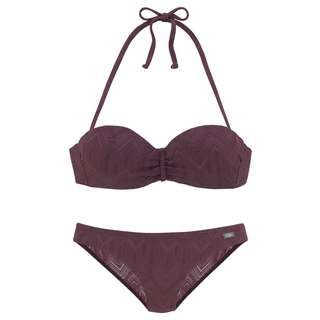 Buffalo Bikini Set Damen weinrot