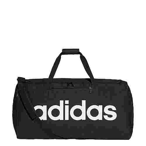 adidas Linear Core Duffelbag L Sporttasche Herren Black / Black / White