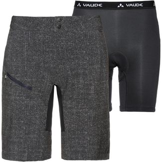 VAUDE Men´s Ligure Shorts Fahrradshorts Herren black-grey
