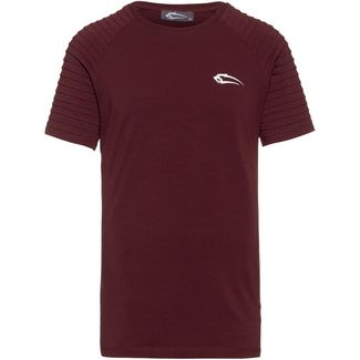 SMILODOX Ripplez T-Shirt Herren bordeaux