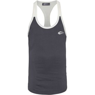 SMILODOX Stringer Double Tanktop Herren anthrazit