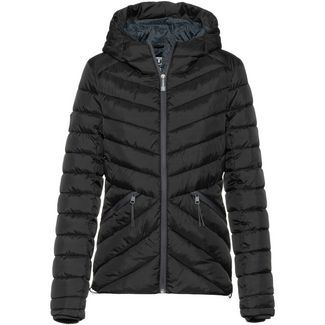 Superdry Helio Fuji Strickjacke Damen black