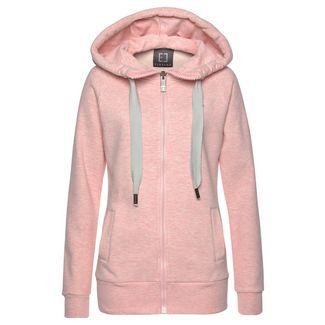 ELBSAND Sweatshirt Damen rosa-meliert