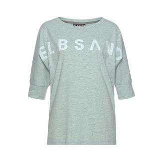 ELBSAND T-Shirt Damen mint-meliert
