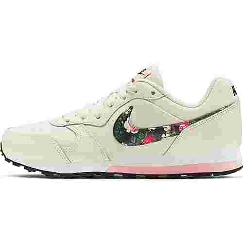 Nike MD Runner Sneaker Kinder pale-ivory-black-pink-tint-white