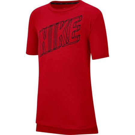 Nike Breathe Funktionsshirt Jungen Funktionsshirts 128-140 Normal   00193147065886