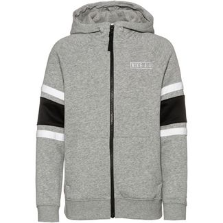 Nike Air Sweatjacke Kinder dk-grey-heather-black-white-white