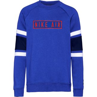 Nike Air Sweatshirt Kinder game-royal-blue-void-white-university-red