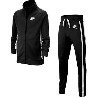 Nike Air Trainingsanzug Kinder black-black-white-white