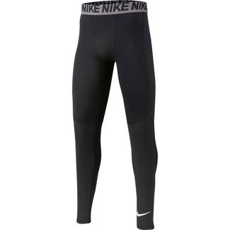 Nike NP Tights Kinder black-white