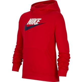Nike Club Sweatshirt Kinder university-red