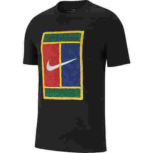Nike M NKCT COURT T-Shirt Herren black