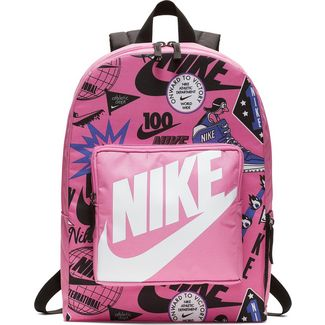 Nike Rucksack Classic Daypack Kinder china-rose-black-white