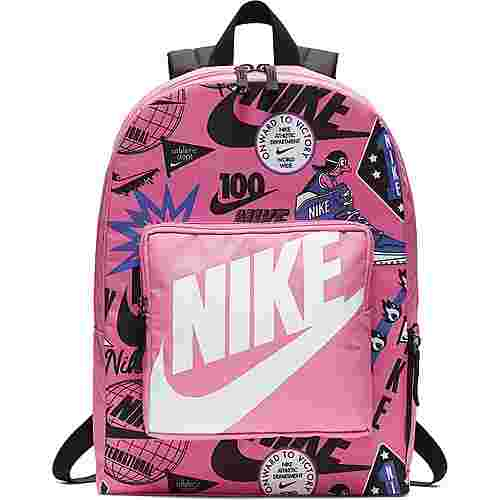Nike Rucksack Classic Daypack Kinder china-rose-black-white