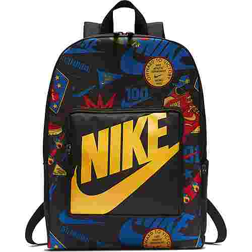 Nike Rucksack Classic Daypack Kinder black-black-university-gold