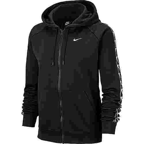 Nike NSW Sweatjacke Damen black-black-white
