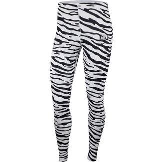 Nike NSW Essntl Leggings Damen black-white