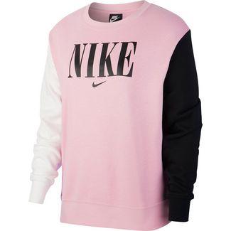 Nike NSW Essntl Sweatshirt Damen pink rise-white-black