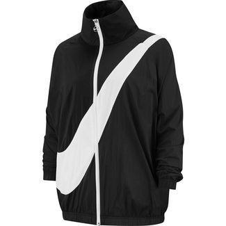 Nike NSW Nylonjacke Damen black-white