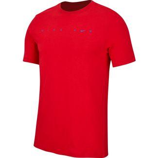 Nike NSW FTWR T-Shirt Herren university red-game royal