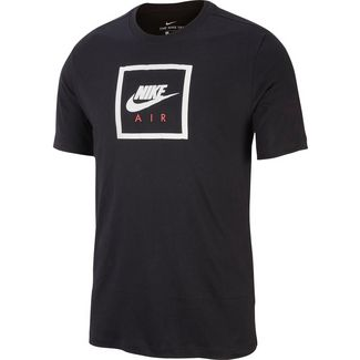 Nike NSW Air 2 T-Shirt Herren black-white