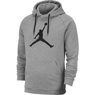 Nike Jumpman Hoodie Herren carbon heather-black