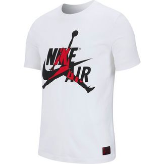 Nike Classics Crew Basketball Shirt Herren white-gym red