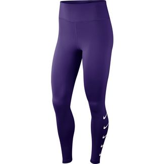 Nike Swoosh Lauftights Damen court purple-white