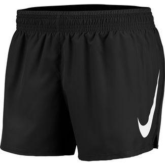 Nike Swoosh Laufshorts Damen black-white