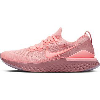 Nike Epic React Flyknit 2 Laufschuhe Damen pink tint-rust pink