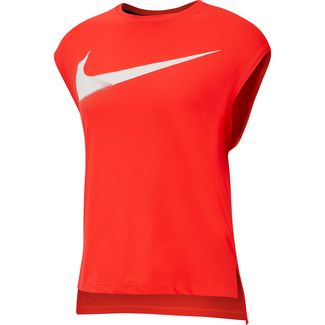 Nike Rebel Funktionstank Damen bright crimson-white