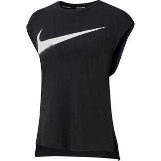 Nike Rebel Funktionstank Damen black-white
