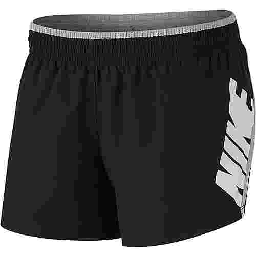 Nike Rebel Laufshorts Damen black-jade horizon-white