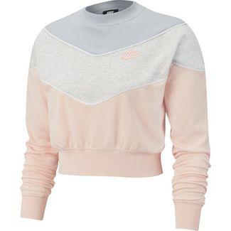 Nike Sweatshirt Damen echo pink-pure platinum