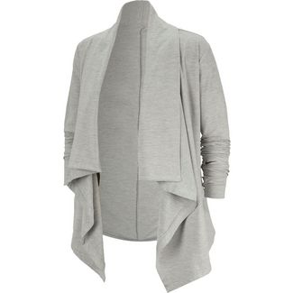 Nike Yoga Trainingsjacke Damen atmosphere grey