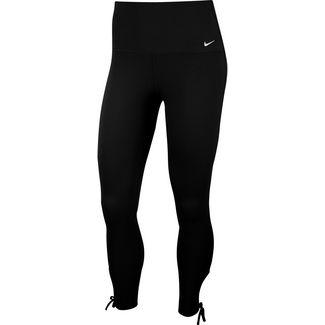 Nike Yoga Tights Damen black-white