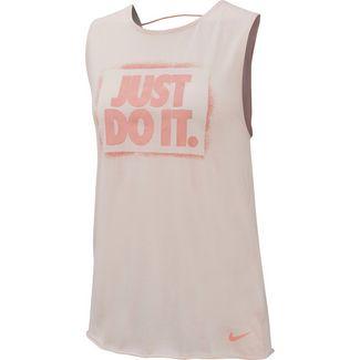 Nike Modern Muscle Funktionstank Damen echo pink-pink quartz
